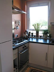 Londres Studio T1 appartement location vacances - cuisine (LN-348) photo 1 sur 2
