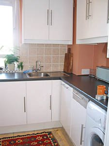 Londres Studio T1 appartement location vacances - cuisine (LN-348) photo 2 sur 2