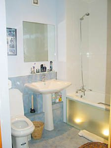 Londres Studio T1 appartement location vacances - salle de bain (LN-348) photo 1 sur 2