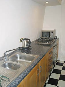 Londres T3 - Duplex appartement location vacances - cuisine (LN-529) photo 2 sur 2