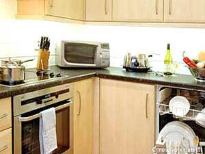 Londres T2 logement location appartement - cuisine (LN-623) photo 1 sur 1