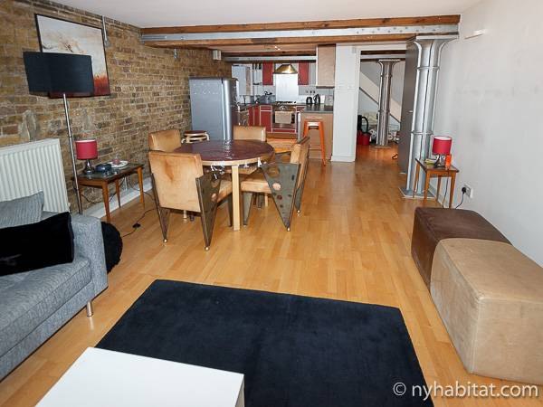 London Apartment 1 Bedroom Duplex Rental In Shoreditch