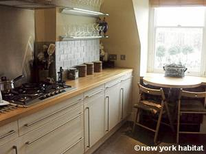 Londres T3 - Duplex appartement location vacances - cuisine (LN-1025) photo 2 sur 2