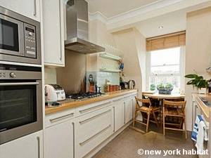 Londres T3 - Duplex appartement location vacances - cuisine (LN-1025) photo 1 sur 2