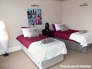 London 2 Bedroom accommodation - bedroom 2 (LN-1052) photo 3 of 3