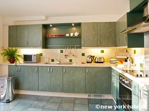 Londres T4 - Penthouse logement location appartement - cuisine (LN-1101) photo 1 sur 1