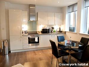 London 1 Bedroom accommodation - kitchen (LN-1201) photo 1 of 2