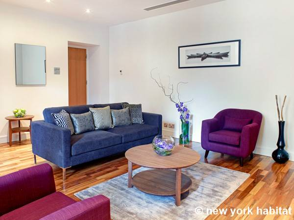 London 1 Bedroom apartment - living room (LN-1537) photo 1 of 1