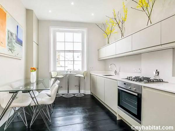 London 2 Bedroom apartment - kitchen (LN-1887) photo 1 of 2
