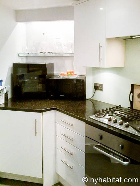 London 1 Bedroom - Duplex apartment - kitchen (LN-1918) photo 4 of 4