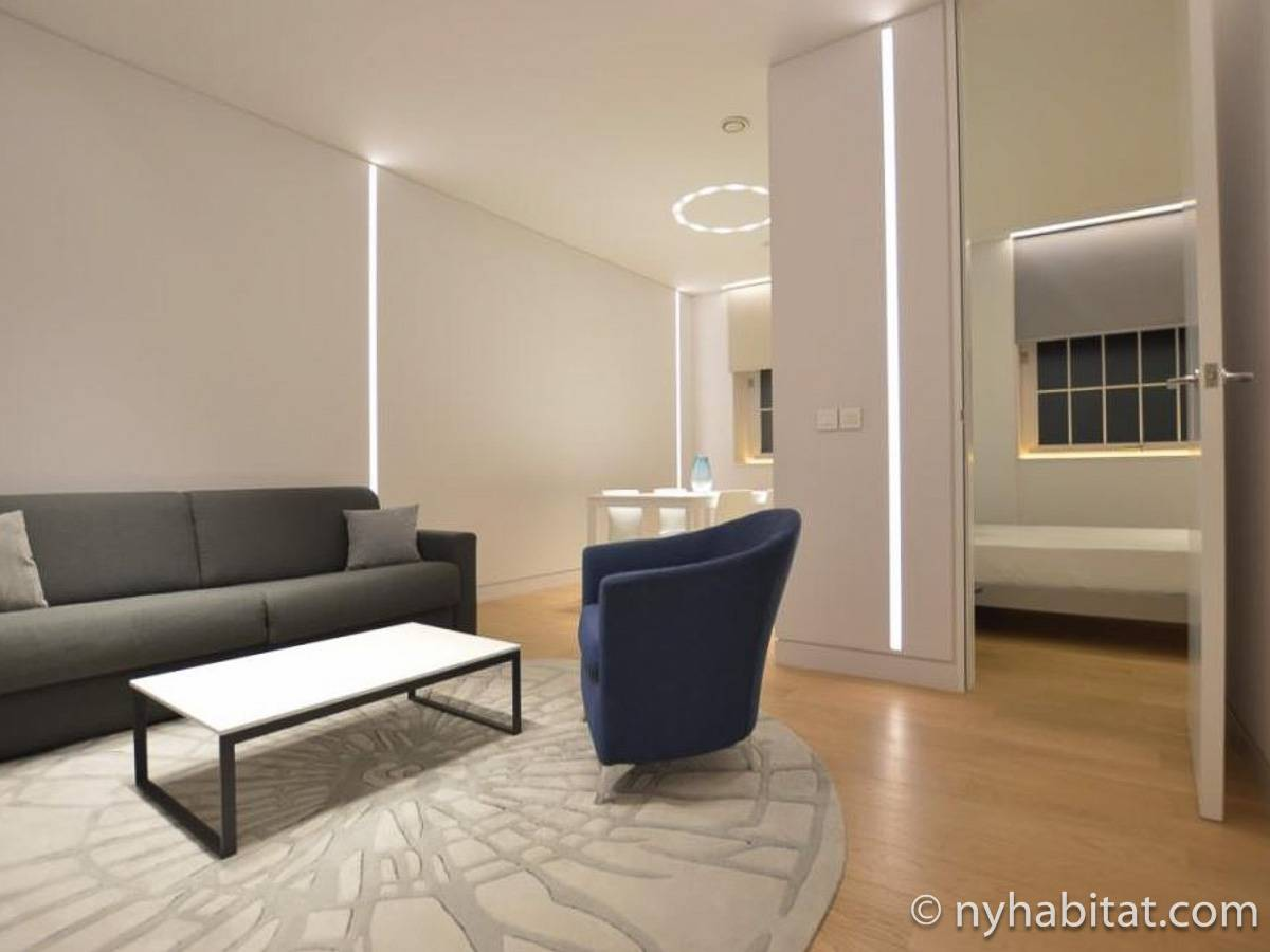 London 1 Bedroom apartment - living room (LN-1920) photo 1 of 3