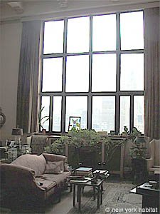 New York 3 Bedroom - Duplex roommate share apartment - living room (NY-11) photo 9 of 18