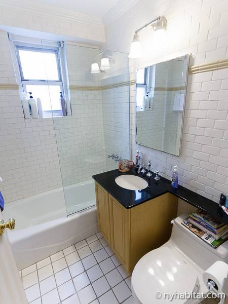 New York 4 Bedroom apartment - bathroom 1 (NY-772) photo 1 of 2