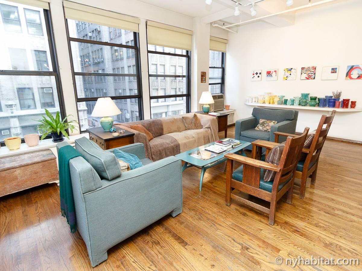 wohnungsvermietung in new york 3 zimmer chelsea ny 10117. Black Bedroom Furniture Sets. Home Design Ideas