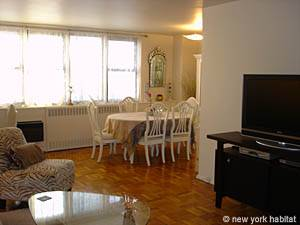 New York 2 Bedroom roommate share apartment - living room (NY-10247) photo 9 of 10