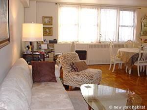 New York 2 Bedroom roommate share apartment - living room (NY-10247) photo 10 of 10