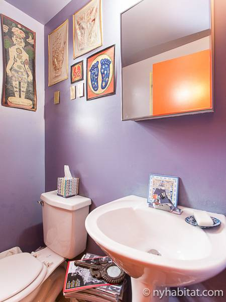 new york 2 bedroom duplex apartment bathroom 2 ny 10893 photo 2