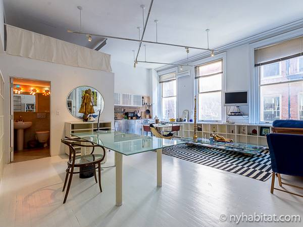 New York Apartment Alcove Studio Loft Duplex Apartment