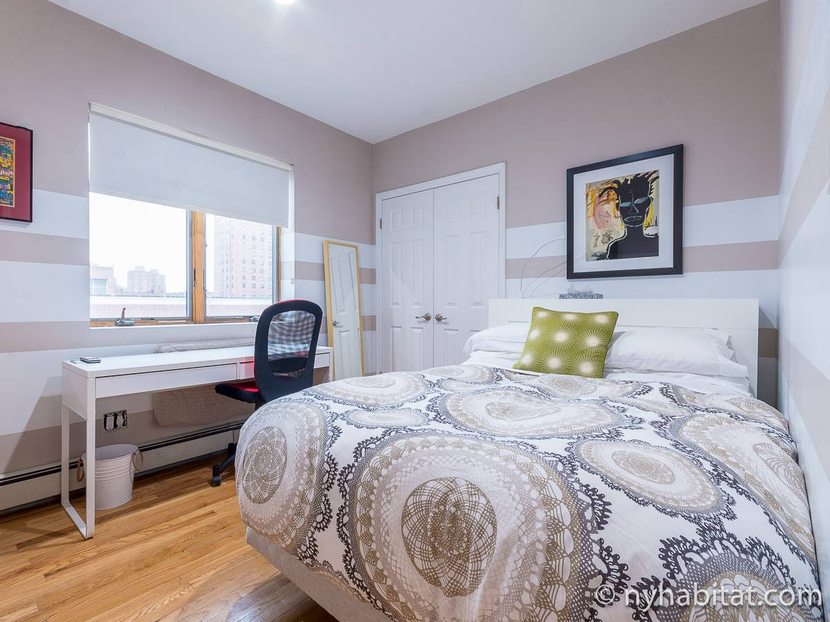 New York 3 Bedroom roommate share apartment - bedroom 2 (NY-11228) photo 1 of 6