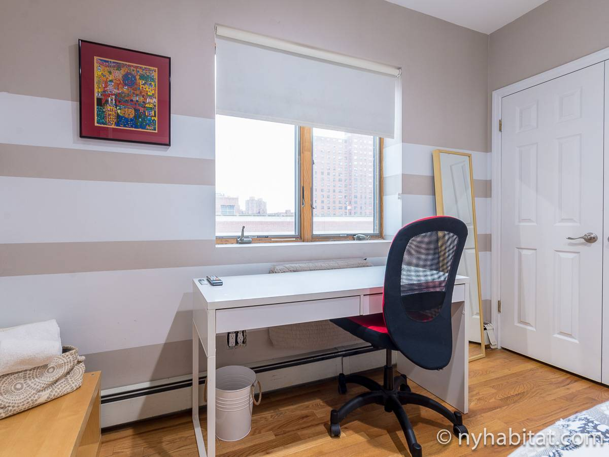 New York 3 Bedroom roommate share apartment - bedroom 2 (NY-11228) photo 5 of 6