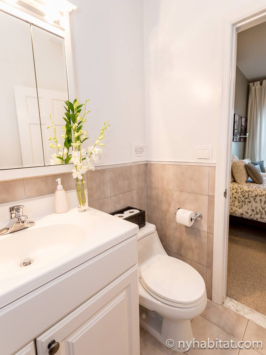 New York T3 appartement bed breakfast - salle de bain 1 (NY-11527) photo 2 sur 2