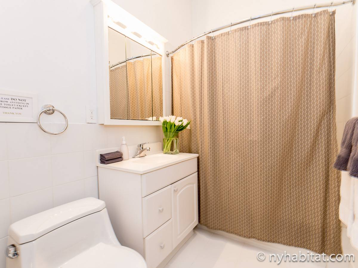 New York T3 appartement bed breakfast - salle de bain 2 (NY-11527) photo 1 sur 2