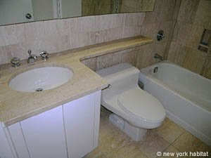 New York T2 logement location appartement - salle de bain (NY-11945) photo 2 sur 2