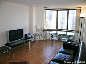New York T2 logement location appartement - séjour (NY-11945) photo 3 sur 4