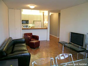 New York T2 logement location appartement - séjour (NY-11945) photo 4 sur 4
