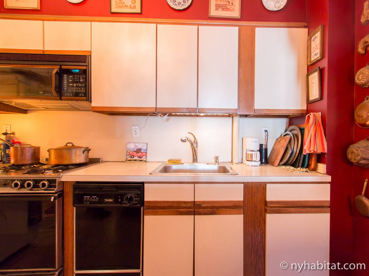 New York 2 Bedroom roommate share apartment - kitchen (NY-12146) photo 3 of 4