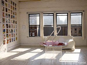 New York 5 Bedroom roommate share apartment - living room (NY-12153) photo 1 of 8