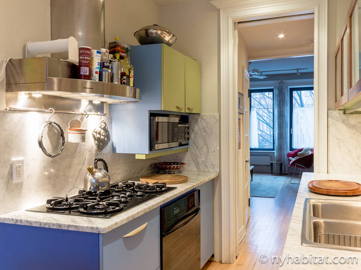 New York T3 - Duplex appartement location vacances - cuisine (NY-12274) photo 4 sur 4