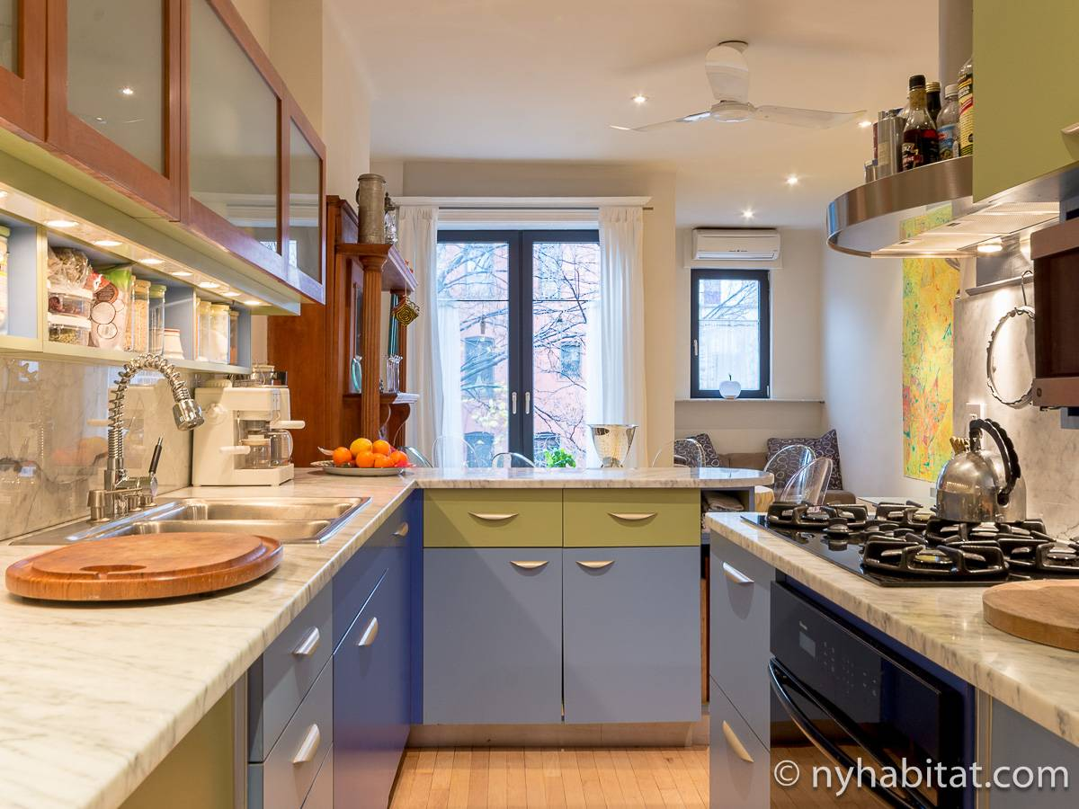 New York T3 - Duplex appartement location vacances - cuisine (NY-12274) photo 1 sur 4