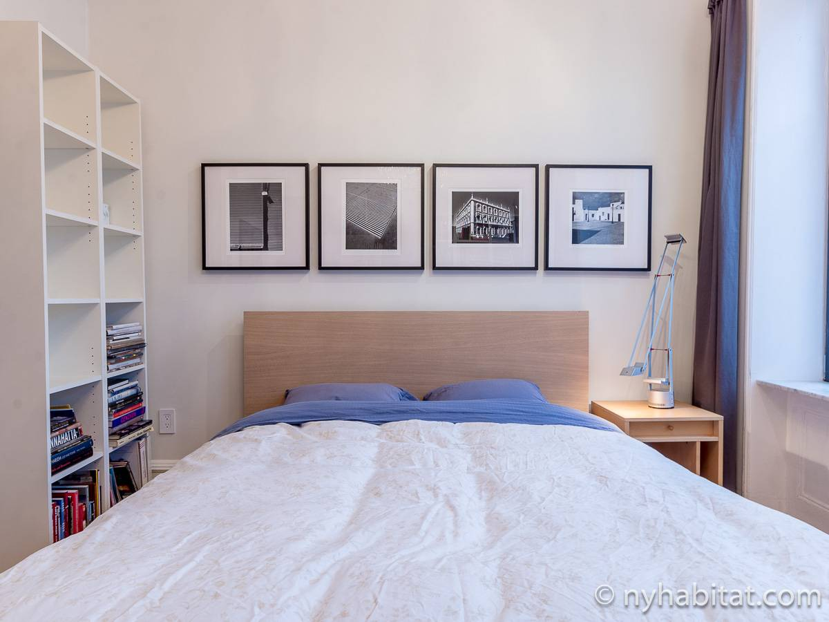 New York T3 - Duplex appartement location vacances - chambre 2 (NY-12274) photo 3 sur 8
