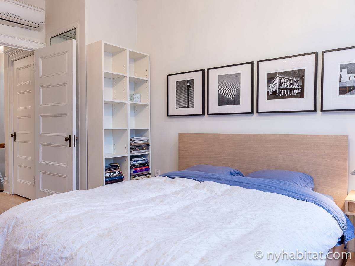 New York T3 - Duplex appartement location vacances - chambre 2 (NY-12274) photo 4 sur 8