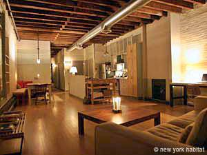 New York Apartment 1 Bedroom Loft Apartment Rental In