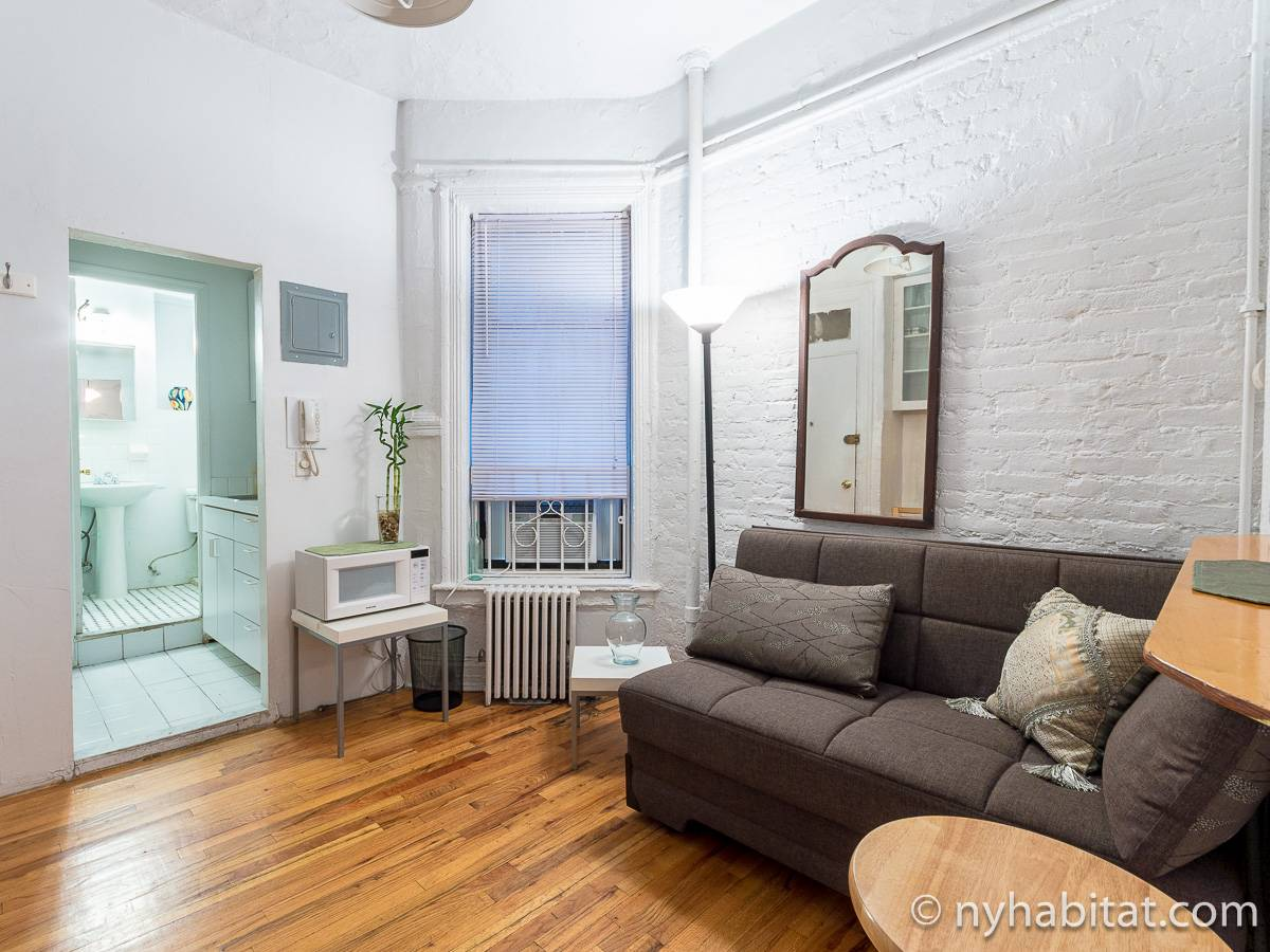 New York Alcove Studio apartment - living room (NY-12361) photo 6 of 8