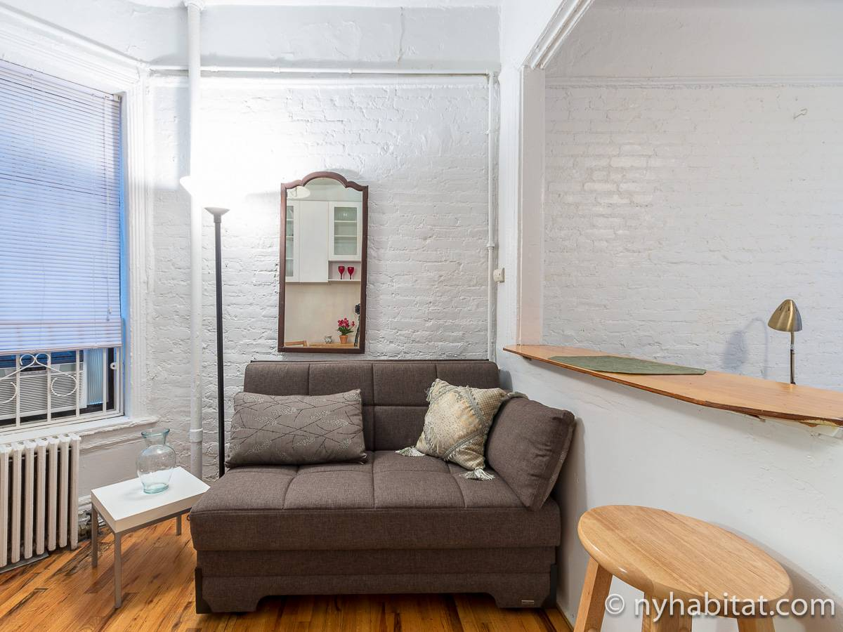 New York Alcove Studio apartment - living room (NY-12361) photo 7 of 8