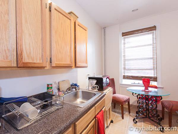 New York 1 Bedroom accommodation bed breakfast - kitchen (NY-12474) photo 1 of 4
