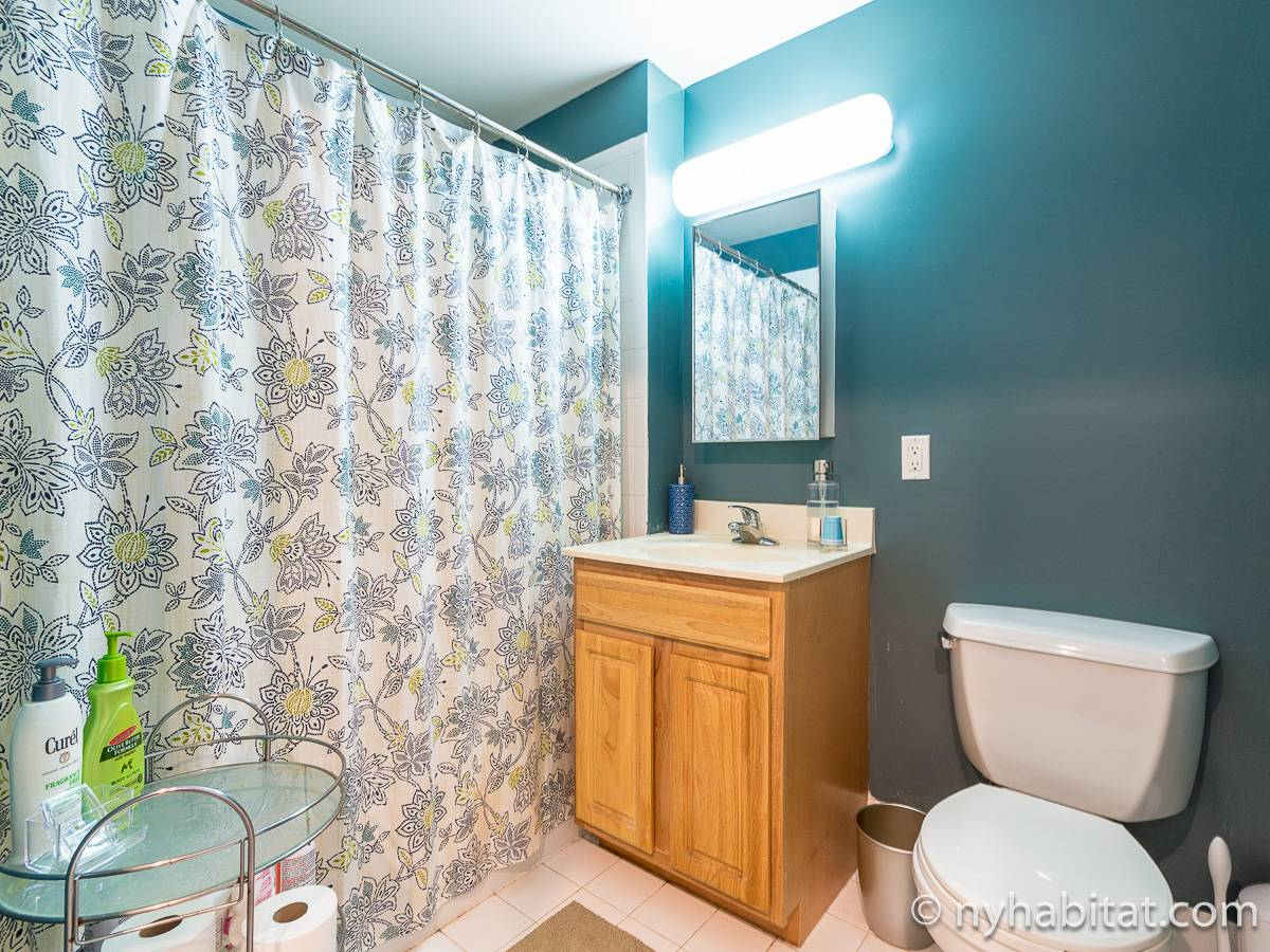 New York 3 Bedroom roommate share apartment - bathroom (NY-12639) photo 1 of 2