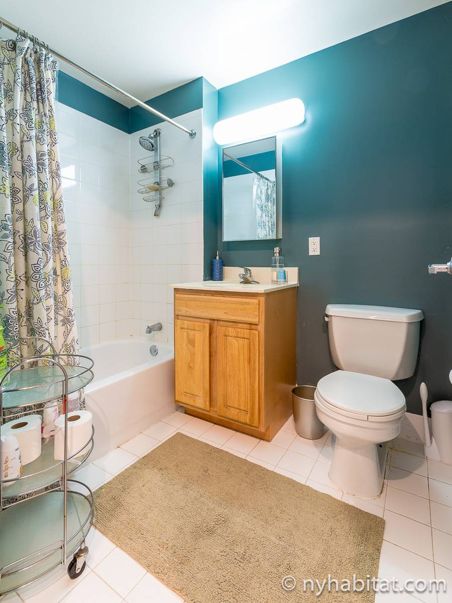 New York 3 Bedroom roommate share apartment - bathroom (NY-12639) photo 2 of 2