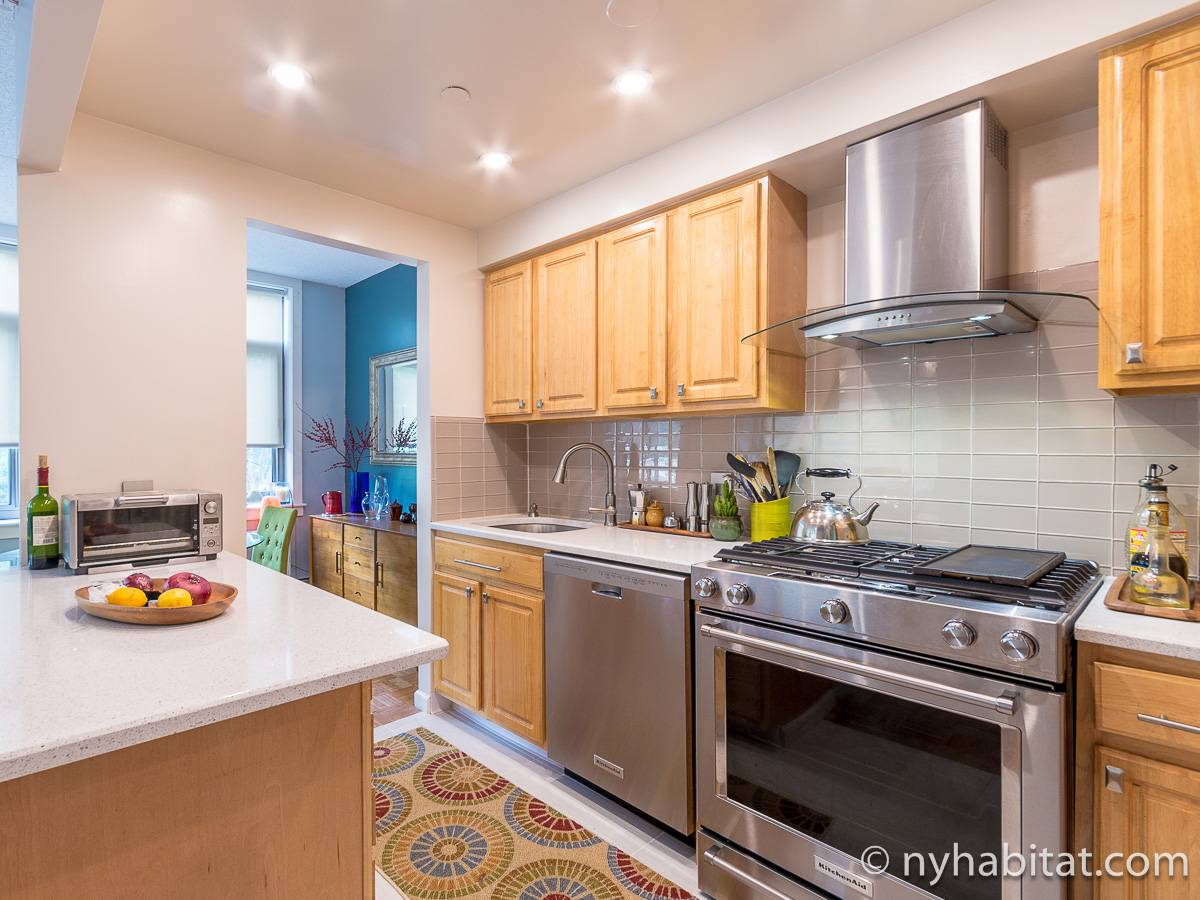 New York 3 Bedroom roommate share apartment - kitchen (NY-12639) photo 2 of 6