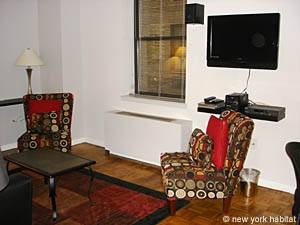 New York 1 Bedroom apartment - living room (NY-12754) photo 2 of 7