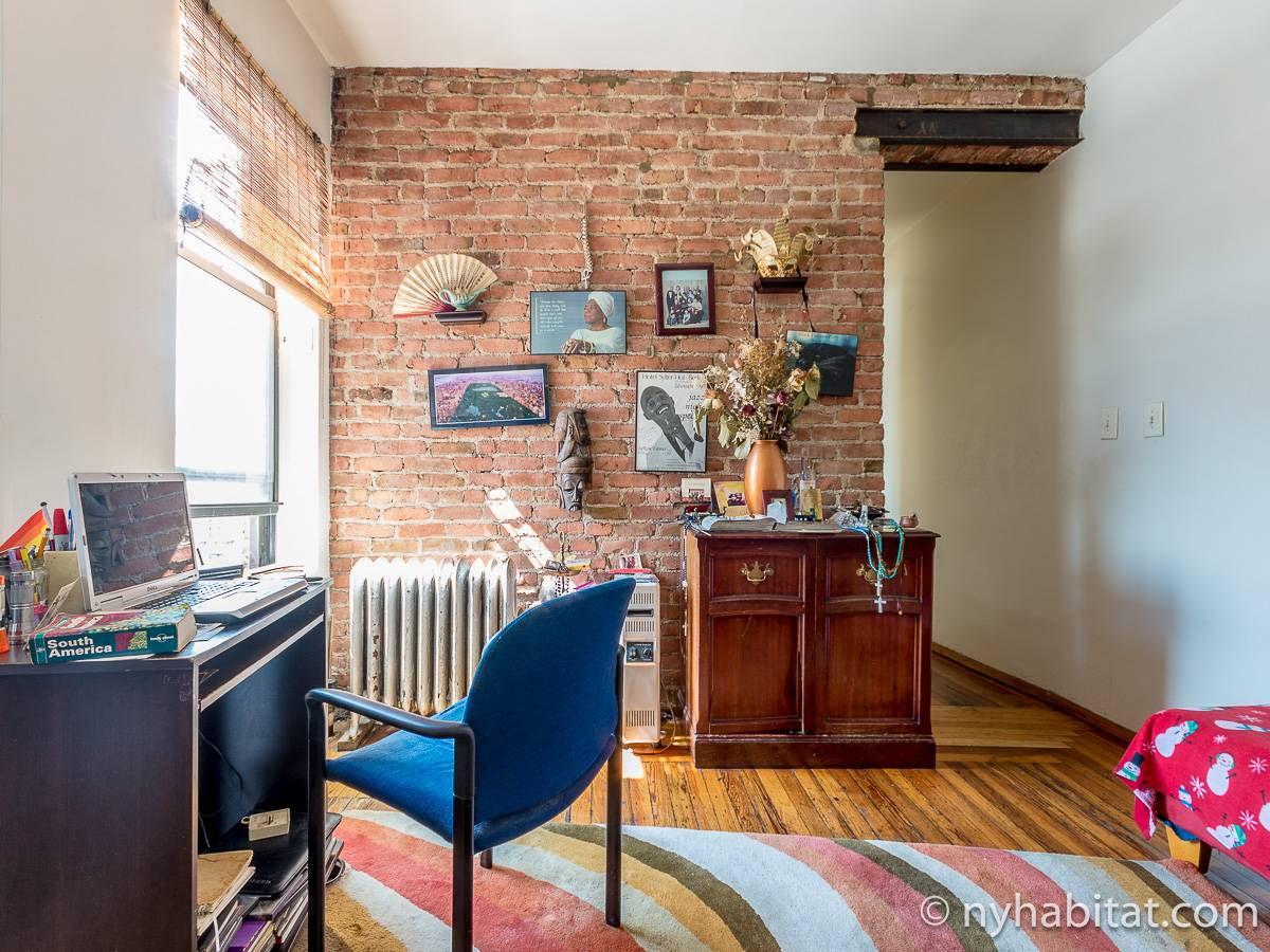 New York 2 Bedroom roommate share apartment - living room (NY-12825) photo 1 of 6