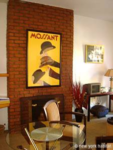 New York T2 logement location appartement - séjour (NY-12830) photo 4 sur 6