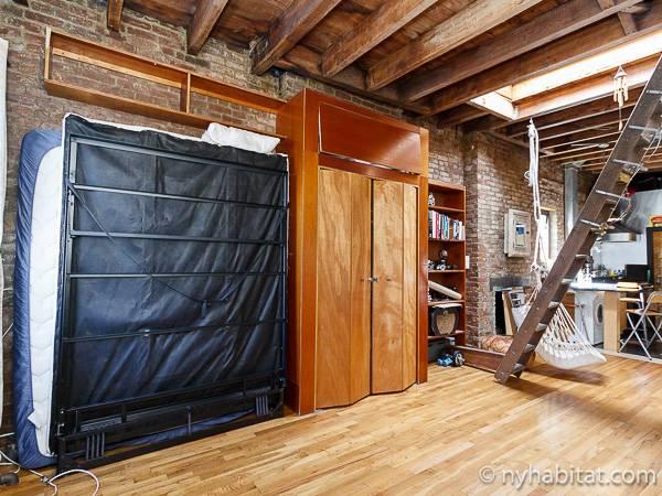 Studio Apartment East Village new york apartment: studio loft apartment rental in east village