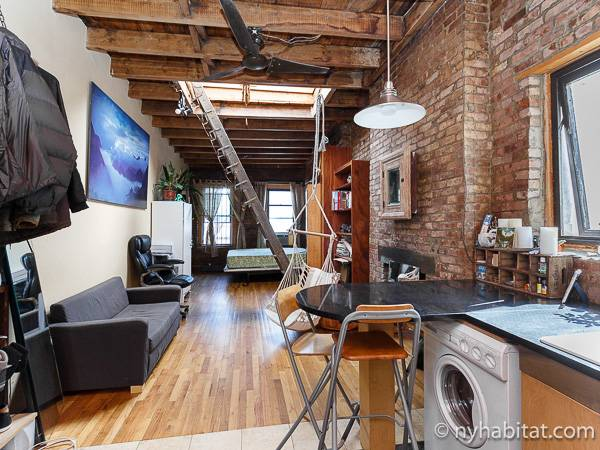New York Apartment Studio Loft Apartment Rental in East Village