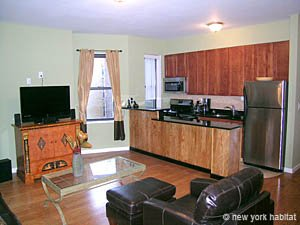 New York 1 Bedroom apartment - living room (NY-14078) photo 1 of 4