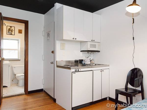 New York Accommodation Studio Apartment Rental In Clinton
