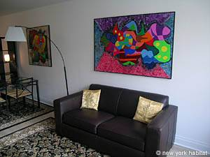New York T2 logement location appartement - séjour (NY-14130) photo 4 sur 9
